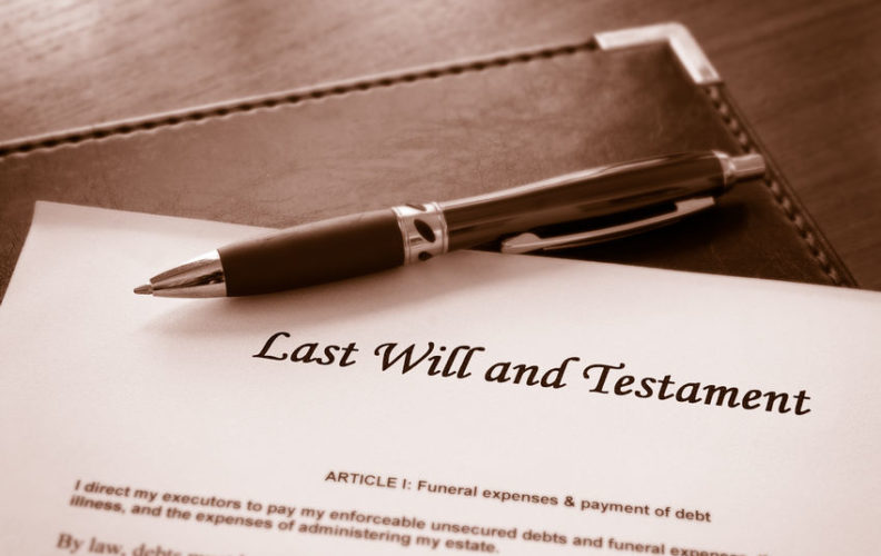 A will is part of estate planning