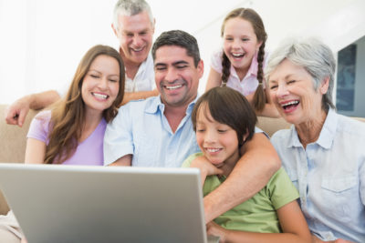 family using the Resource Directory