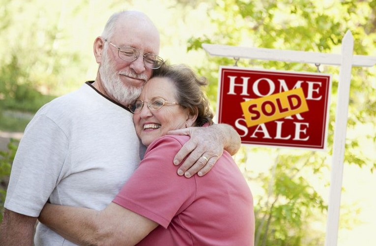 Senior couple choose to sell their home