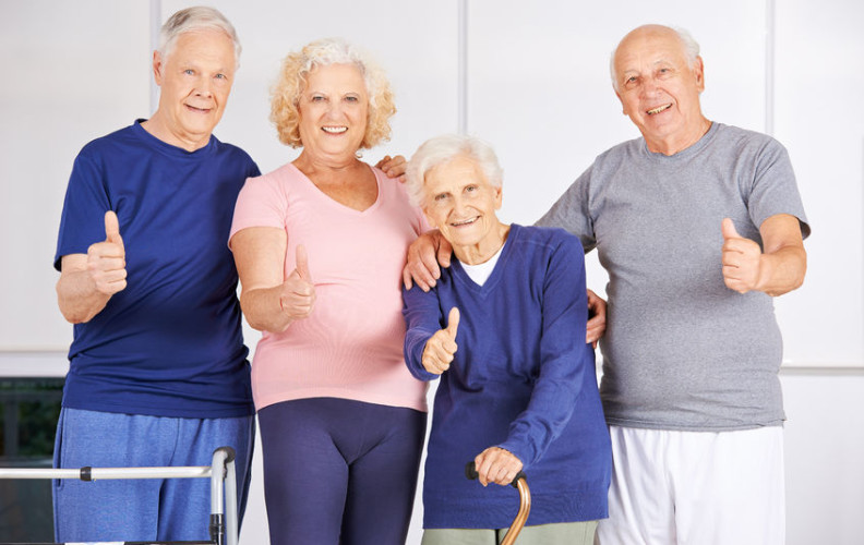happy seniors choosing renting or home sharing
