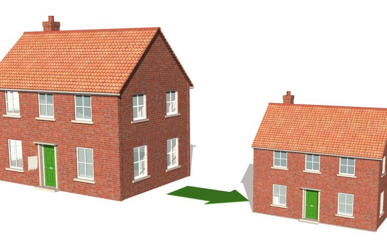 Don t wade through downsizing on your own upside of for Benefits of downsizing