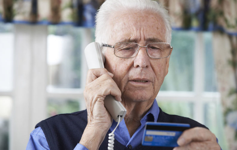 Be aware of senior scammers