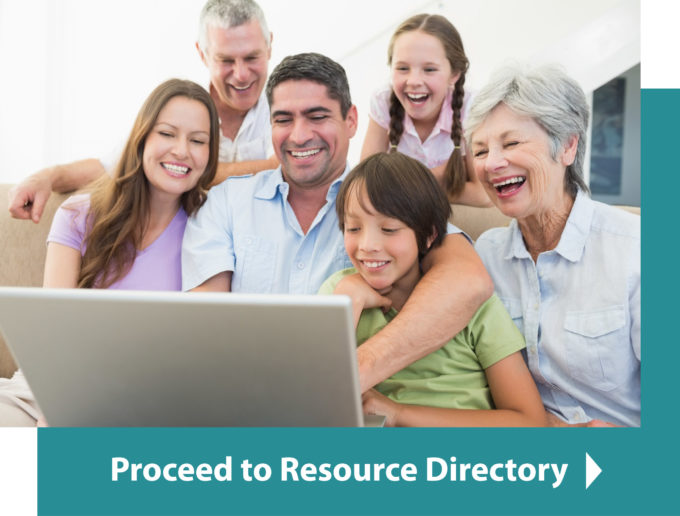 Proceed to Resource Directory Button